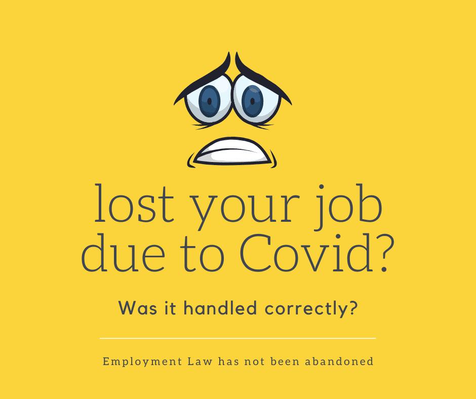 Covid 19 Redundancy